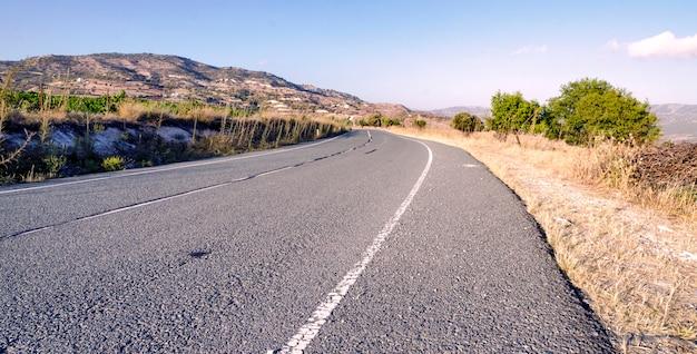 Droga na cyprze