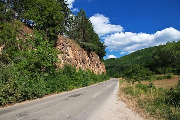 Droga w górach bułgarii