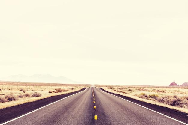 Droga w kraju prerii
