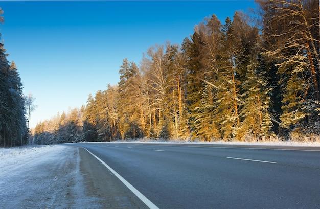 Droga zimą