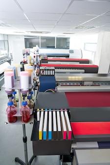 Drukarka do papieru transferowego dla przemysłu tekstylnego