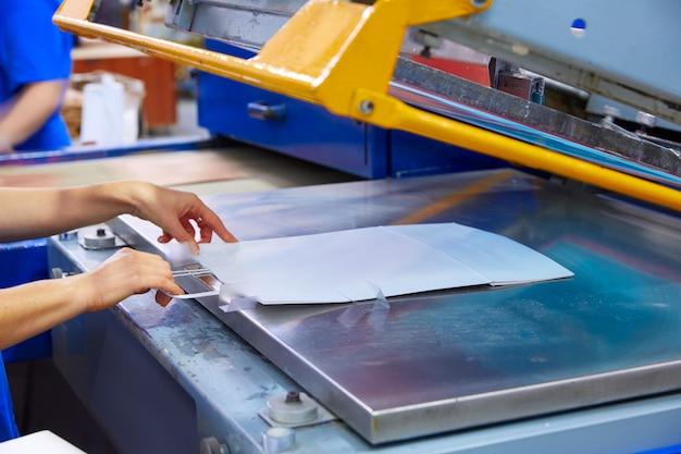 Drukowanie worków sitodrukowych maszyny do drukowania maszynowego
