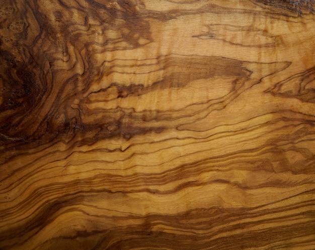 Drzewo oliwne drewniana tekstura od drewnianego stołu