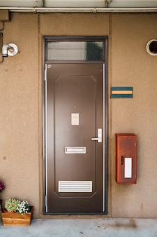 Drzwi w stylu japońskim mieszkania
