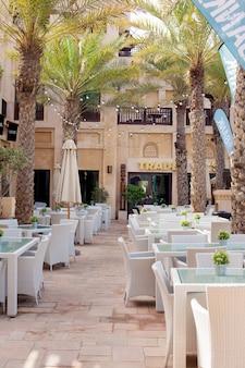 Dubaj, ładne miejsce souk madinat jumeirah