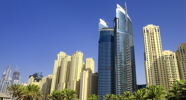 Dubaj, marina district