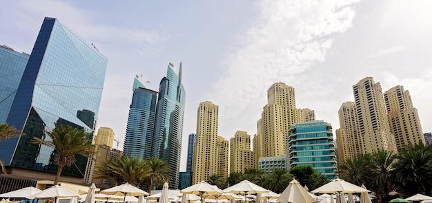 Dubaj pejzaż miejski