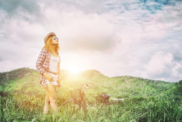 Duchowość pochodni rower relaks spokoju