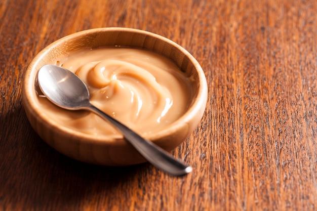Dulce de leche (doce de leite) słodycze wyrabiane z mleka, wyprodukowane w brazylii i argentynie.