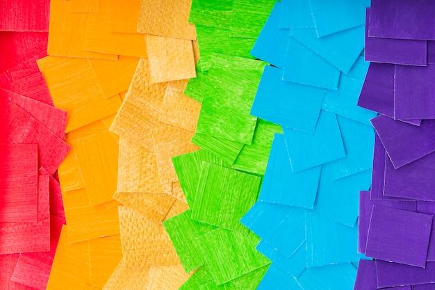 Duma gejów koncepcja tęcza tło
