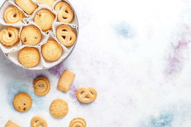 Duńskie ciasteczka maślane.