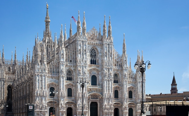 Duomo di milano - katedra w mediolanie