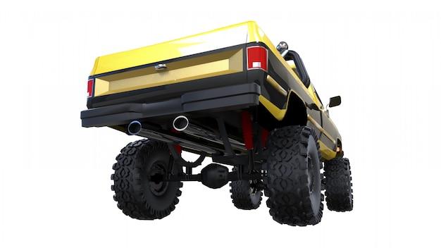 Duża ciężarówka terenowa