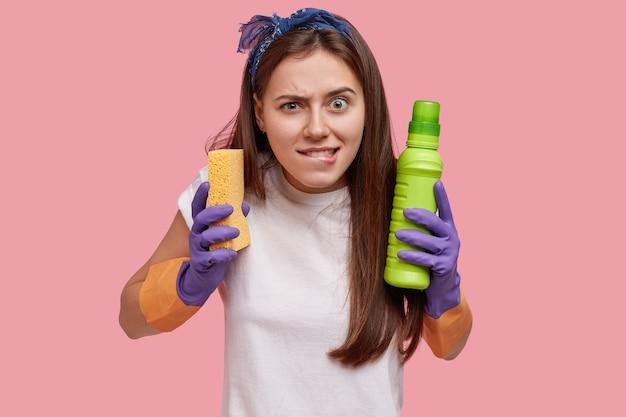 Duża koncepcja czyszczenia
