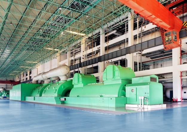 Duża maszyna termiczna