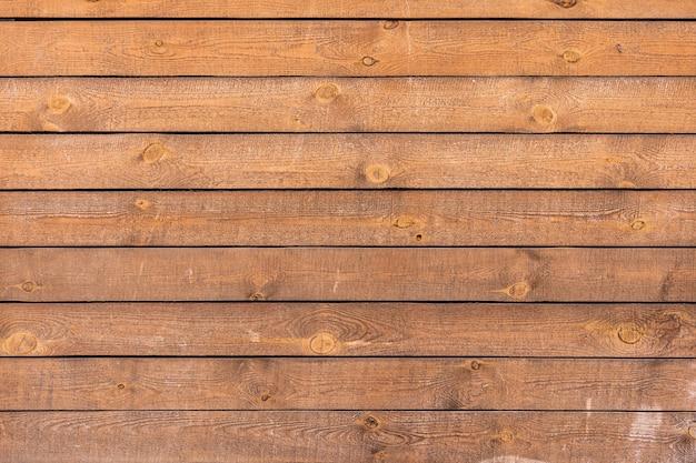 Duże brązowe drewniane deski ścienne tekstury tła