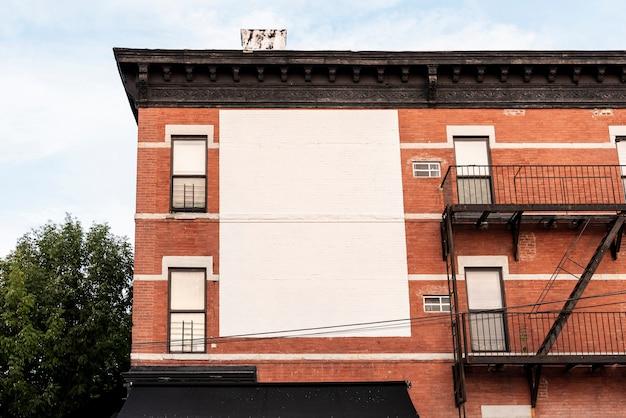 Duży makiety billboard na budynku