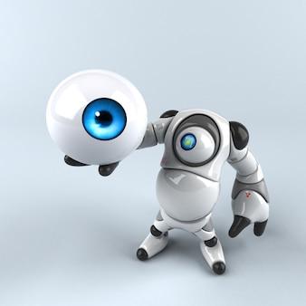 Duży robot - postać 3d