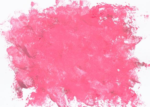 Duży rozchlapać akwarela różowy