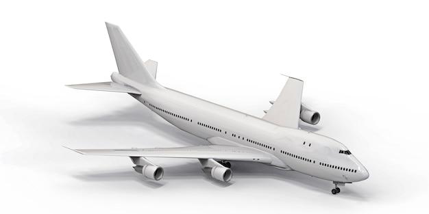 Duży samolot pasażerski o dużej pojemności do długich lotów transatlantyckich