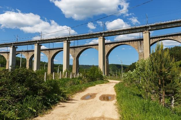 Dwa mosty kolejowe, wiadukty krasnoufimskiego