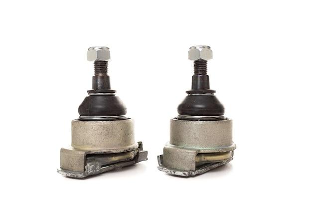 Dwa przeguby kulowe, koncepcja warsztatu samochodowego dla części zamiennych