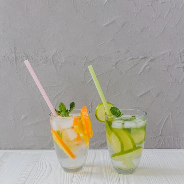 Dwa smaczne letnie napoje
