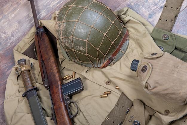 Dwa wojny światowej sprzęt wojskowy amerykański