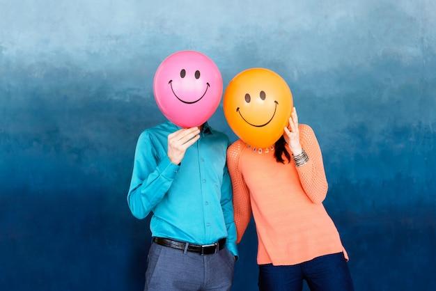 Dwie szczęśliwe osoby