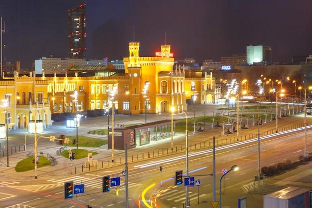 Dworzec główny wrocław, polska