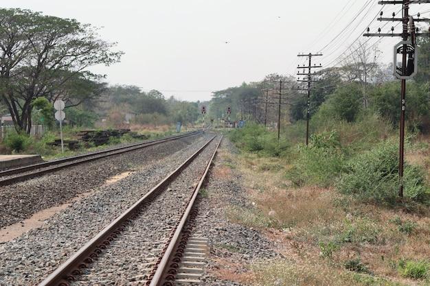 Dworzec kolejowy i kolejowy