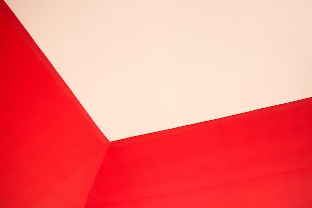Dwukolorowe czerwono-żółte tło