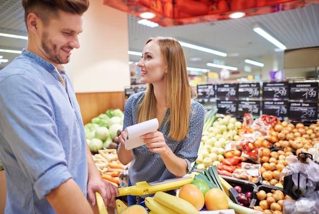 Dwukrotne sprawdzenie listy zakupów