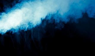 Dym, biały