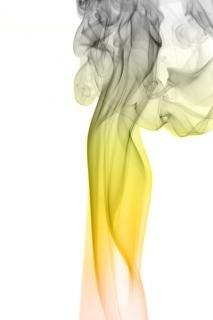 Dym, dynamiczne, abstrakcyjne, przepływ