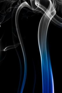 Dym fala gładki
