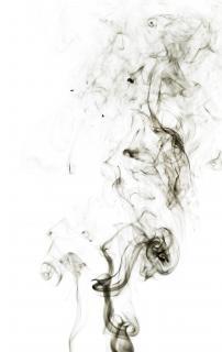 Dym, zapach, formę, zen