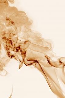 Dym, zapach, formę