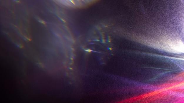 Dynamiczny efekt pryzmatu jasnego światła