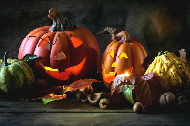 Dynie halloween