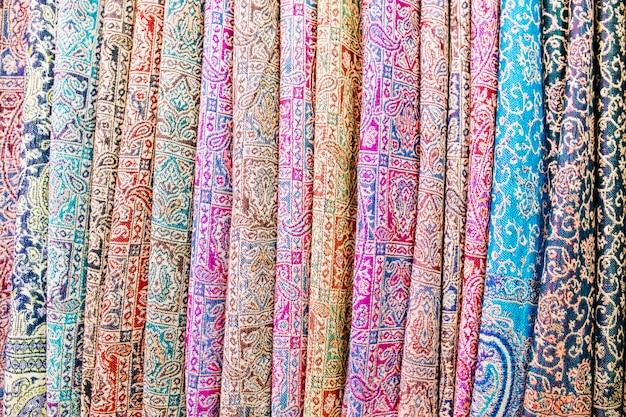 Dywany na rynku w maroku