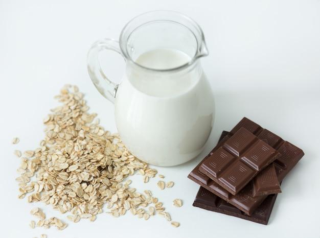 Dzbanek z mlekiem
