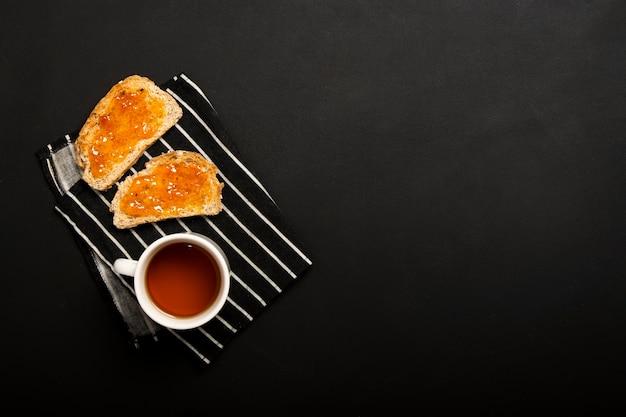Dżem na chleb kopii przestrzeni