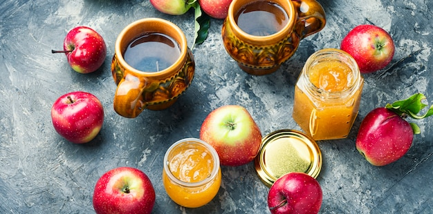 Dżem z dojrzałych jabłek
