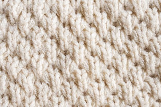Dzianiny wełniane tkaniny tekstura tło