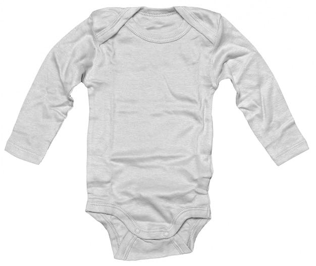 Dzieci ubrania odizolowywający na białym tle
