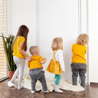 Dzieci z dużym kątem