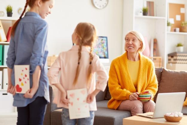 Dzieci zaskakujące matki