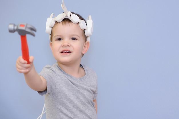 Dziecko do zabiegu magnetoterapeutycznego w szpitalu