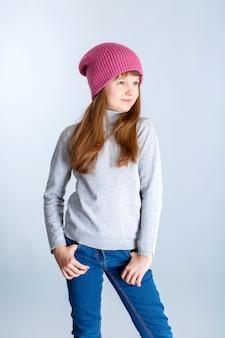 Dziecko dziewczynka kapelusz